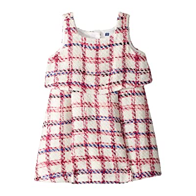 Janie and Jack Boucle Dress (Toddler/Little Kids/Big Kids) (Cranberry) Girl