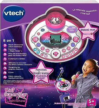 Amazon.com: French : Kidi Superstar LightShow - Rose/ Violet ...