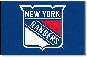 FANMATS NHL New York Rangers Nylon Face Starter Rug