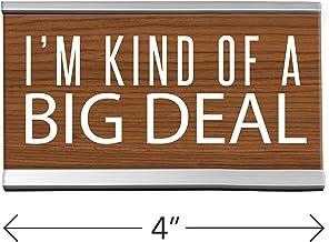 Kind Deal Desk Sign Brown
