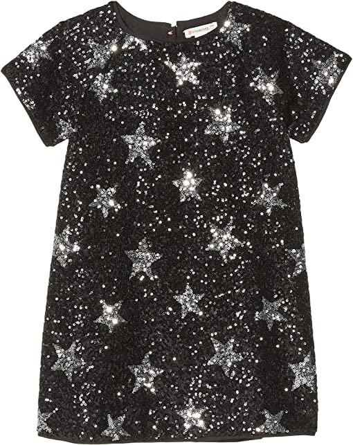 Star Sequin Silver/Black