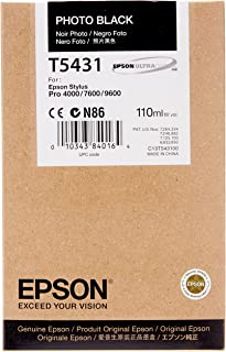 Epson T5431 Tintenpatrone, Singlepack, Foto schwarz