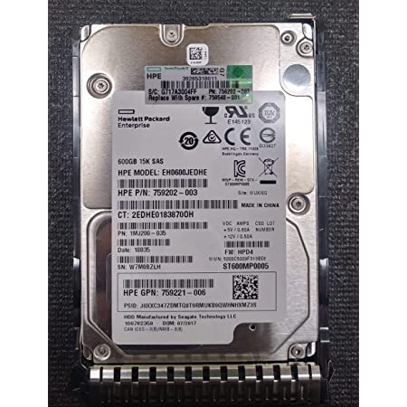 HP 759548-001 HPE 600GB SAS 12 SFF Hard Drive