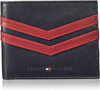 Tommy Hilfiger Navy+Red Men's Wallet (TH/HARVEYGCW1604)