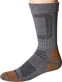 Merino Wool Comfort Stretch Steel Toe Socks 1-Pair Pack