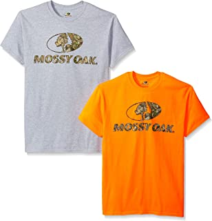 Men's Short Sleeve Graphic T-Shirts (2 Pack)