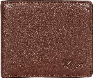 RFID Blocking Passcase Leather Handmade Wallet for Men