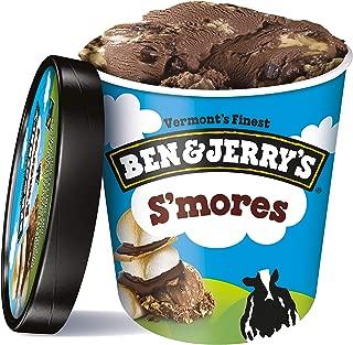 Ben & Jerry's S 'mores Ice Cream, 16 Ounce (Frozen)