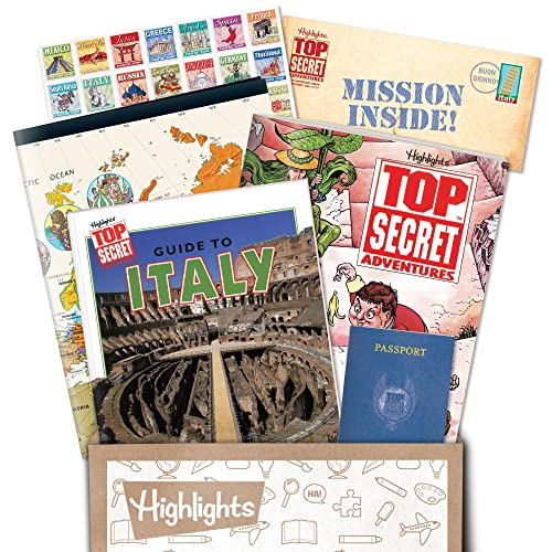 Highlights Top Secret Adventures - A Mysterious, Worldwide Detective Game for Kids!