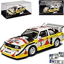 Lombard RAC Rally 1984 4240 1//18 Modell Auto mit individiuellem Wunschkennzeichen Sun Star A-U-D-I Quattro A2 Nr 3 Mikkola 2