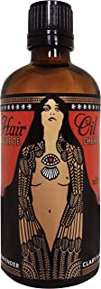 Hair Oil by Lulu Organics with Argan Oil Lavender Scented 3.4 oz