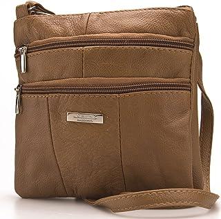 272f282e8 Lorenz Ladies Small Genuine Soft Leather Cross Body / Shoulder Bag (1) #  1941