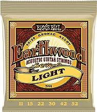 Ernie Ball Earthwood Light 80/20 Bronze Acoustic Set, .011 - .052