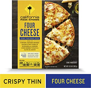CALIFORNIA PIZZA KITCHEN Crispy Thin Crust Frozen Pizza Four Cheese 13.5 oz.
