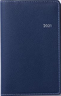 高橋 手帳 2021年 ウィークリー ティーズビュー 5 ダークネイビー No.167 (2020年 12月始まり)