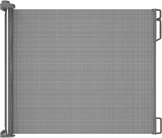 """Perma Child Safety Outdoor Retractable Gate, Extra Wide 71"""", Grey"""