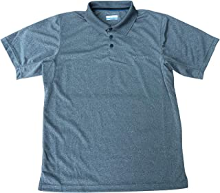 Columbia Men's City Voyager Omni-Wick Short Sleeve Polo Shirt Navy