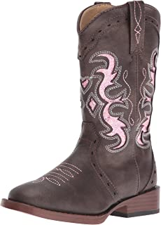 pink roper boots