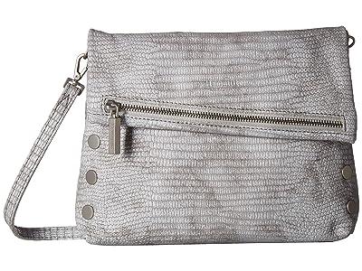 Hammitt VIP Medium (Mist Tejus/Brushed Silver) Cross Body Handbags
