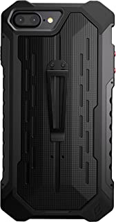 Element Case Black Ops Mil-Spec Drop d Case for Apple iPhone 8 Plus and 7 Plus - Black (EMT-322-134EZ-01)