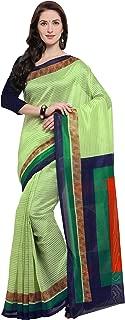 Rajnandini Women's Jute Silk Printed Saree(JOPLNB11009_Mint Green_Free Size)