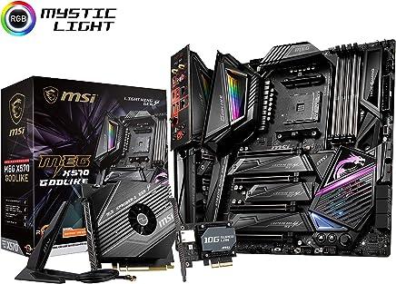 MSI MEG X570 GODLIKE E-ATX マザーボード [AMD X570チップセット搭載] MB4777