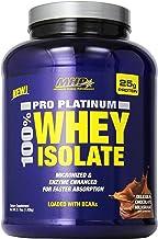 MHP Pro Platinum 100% Whey Isolate Delicious Milkshake, Chocolate,3.1 Pound