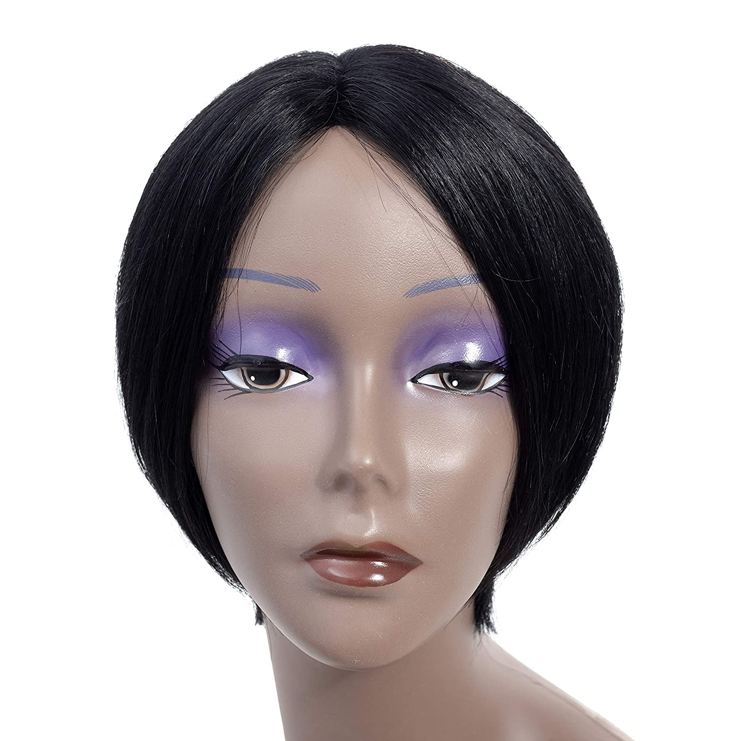 JY hair Tulsa Mall human wigs for Some reservation women the black 9 is