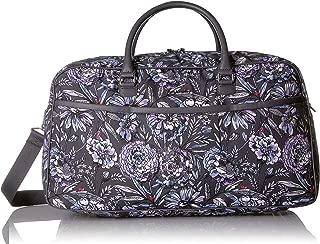 Vera Bradley Iconic Lay Flat Duffel Bag, Lavender Bouquet, Bouque