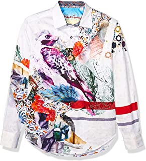 Robert Graham Men's Maltese Falcon L/S Woven Shirt