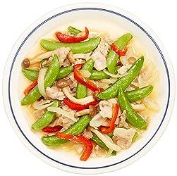 [冷凍] ミールキット 国産豚肉とスナップエンドウの塩炒め 2人前