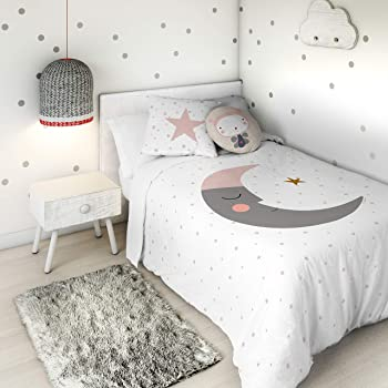 HACIENDO EL INDIO Funda nórdica Happy Star Cama 90 cm: Amazon.es ...