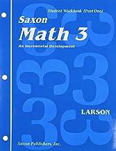 Saxon Math 3: Student Workbook Set 1st Edition