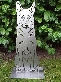 12x Gartenstecker Herz Beetstecker Blumenstecker Gartendeko Rost Design 80cm