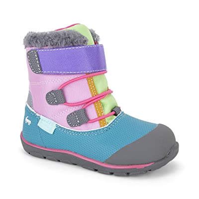 See Kai Run Kids Gilman WP/IN (Toddler/Little Kid) (Pink/Teal) Girl