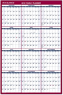 AT-A-GLANCE 2019 Yearly Wall Calendar, 36