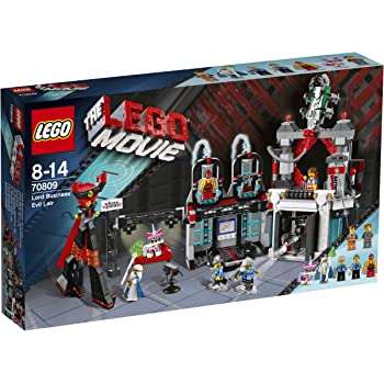 Amazon Com Lego Movie 70809 Lord Business Evil Lair Discontinued By Manufacturer Toys Games