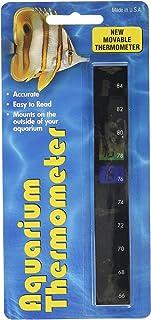 LCR Hallcrest A-1005 Liquid Crystal Vertical Aquarium Thermometer thumbnail