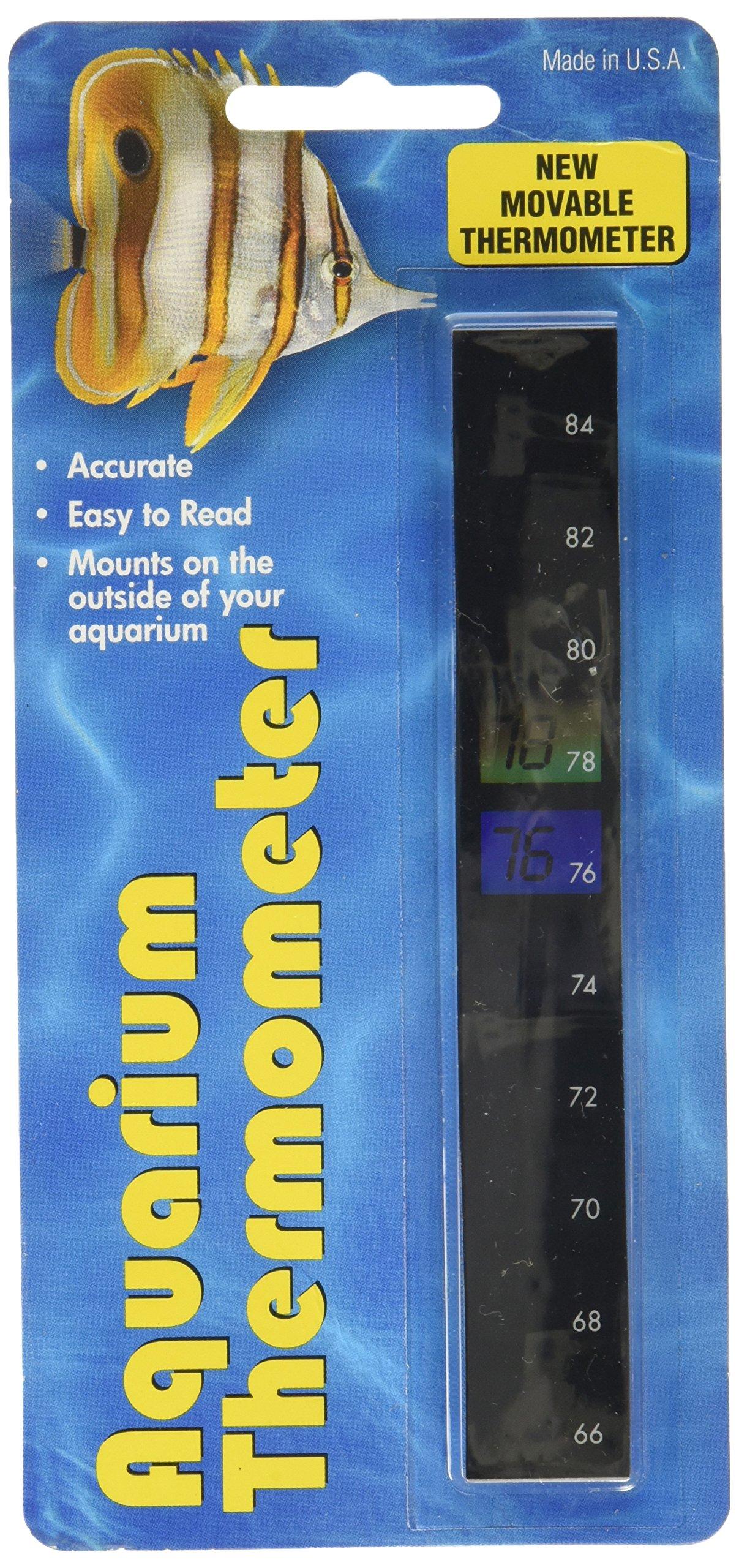 LCR Hallcrest Vertical Aquarium Thermometer