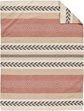 Pendleton Mojave Twill Organic Cotton Blanket Beige Twin Size