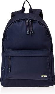 لاكوست حقائب ظهر كاجوال يومية للجنسين، ازرق