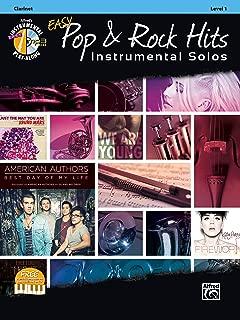 Easy Pop & Rock Hits Instrumental Solos: Clarinet, Book & CD (Easy Instrumental Solos Series)