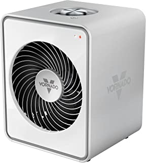 Vornado VMH10 Personal Metal Heater with 2 Heat Settings, White