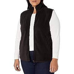 88AMZ Womens Winter Warm Gilet Waistcoat Ladies Faux Fur Vest Coat Jacket Lightweight Sleeveless Outdoor Vest Puffer Coat Outwear Body Warmer Coat