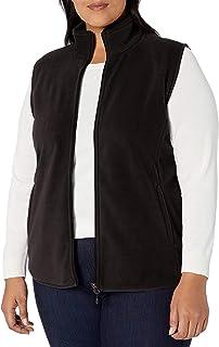 Women's Plus Size Full-Zip Polar Fleece Vest