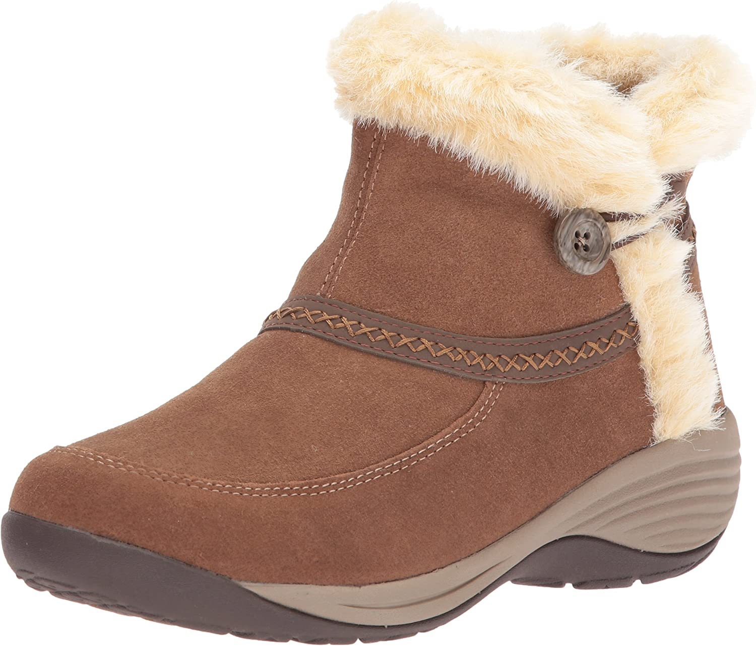 Easy Spirit Womens Icerink Ankle Bootie