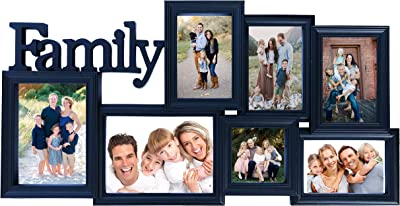 BestBuy Frames Collage Picture Frames with Waterfall Edge Wall Hanging Picture Frame in Various Sizes with