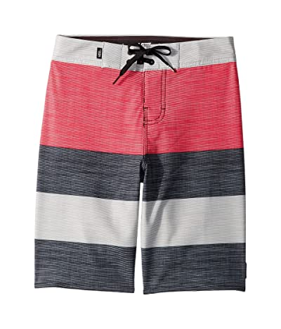 Vans Kids Era Boardshorts (Little Kids/Big Kids) (Jazzy/Black) Boy