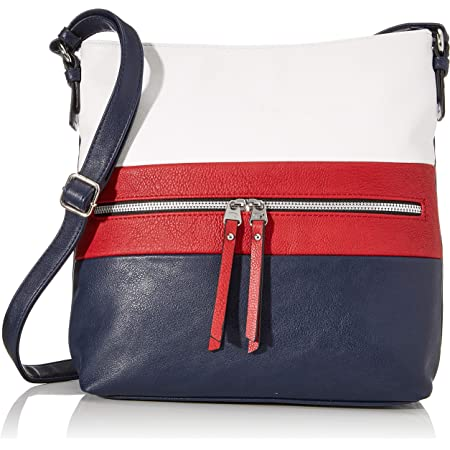 TOM TAILOR bags ELLEN Damen Umhängetasche L, 30x8x30