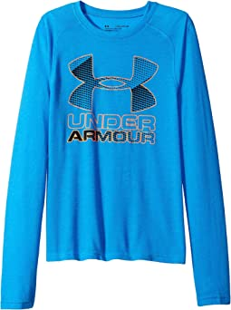 Hybrid Big Logo Long Sleeve Tee (Big Kids)